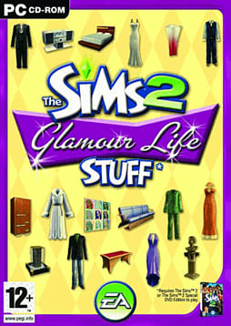 The Sims 2 Glamour Life Stuff PC Games and Downloads Cover Art
