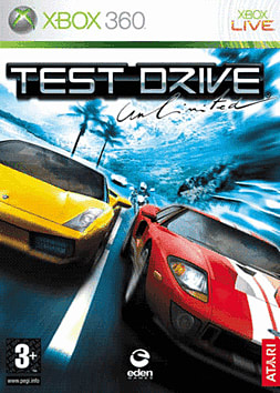Test Drive Unlimited Xbox 360 Cover Art