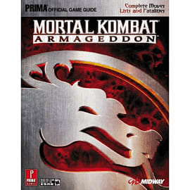 Mortal Kombat: Armageddon Strategy Guide Strategy Guides and Books