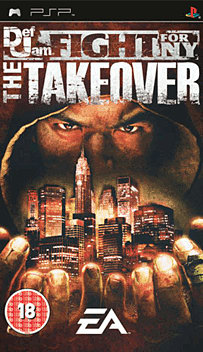 Def Jam Fight for NY: The Takeover PSP Cover Art