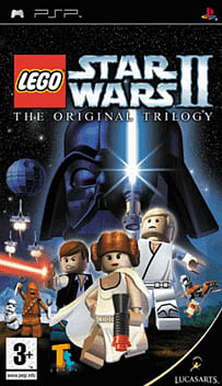 LEGO Star Wars II: The Original Trilogy PSP Cover Art