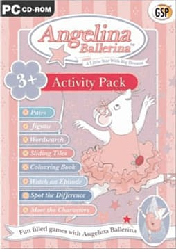 Angelina Ballerina PC Games and Downloads Cover Art