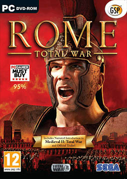 Rome: Total War - Best Sellers PC Games and Downloads Cover Art