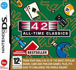 42 All-Time Classics DSi and DS Lite Cover Art