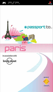 Passport to Paris PSP Cover Art