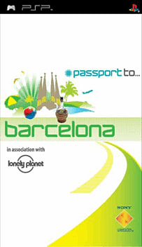 Passport to Barcelona PSP Cover Art