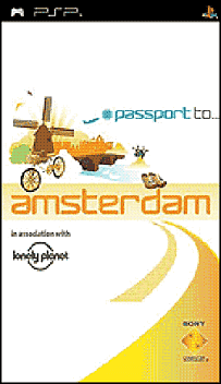 Passport to Amsterdam PSP Cover Art