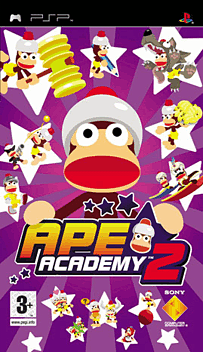 Ape Academy 2 PSP Cover Art