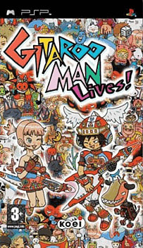 Gitaroo Man Lives! PSP Cover Art