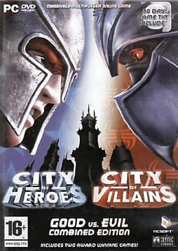 City of Villains / City of Heroes Double Pack PC Games and Downloads Cover Art