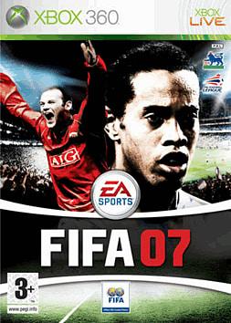 FIFA 07 Xbox 360 Cover Art