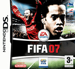 FIFA 07 DSi and DS Lite Cover Art