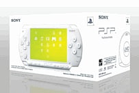 White Sony PSP Base Pack PSP