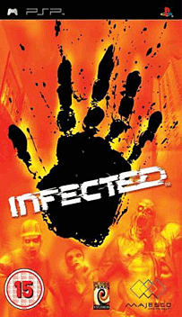 Infected PSP Cover Art