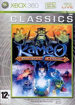 Kameo: Elements of Power - Classic Xbox 360 Cover Art