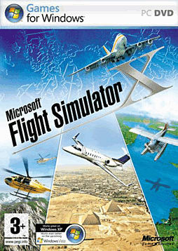 Microsoft Flight Simulator X PC Games and Downloads Cover Art