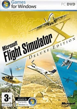 Microsoft Flight Simulator X Deluxe Edition PC Games and Downloads