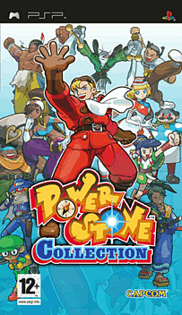 Power Stone Collection PSP Cover Art