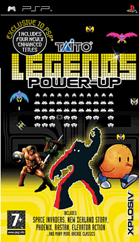 Taito Legends Power-Up PSP Cover Art