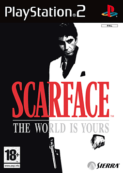 Scarface: The World is Yours PlayStation 2 Cover Art