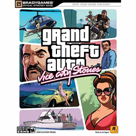 Grand Theft Auto: Vice City Stories Strategy Guide Strategy Guides and Books
