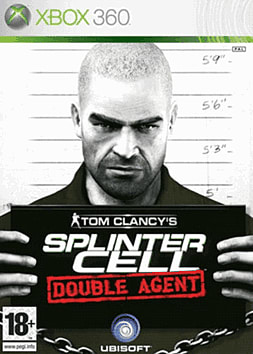 Tom Clancy's Splinter Cell: Double Agent Xbox 360 Cover Art