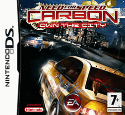 Need For Speed Carbon: Own the City DSi and DS Lite Cover Art