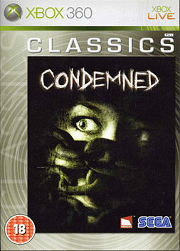 Condemned: Criminal Origins - Classic Xbox 360 Cover Art