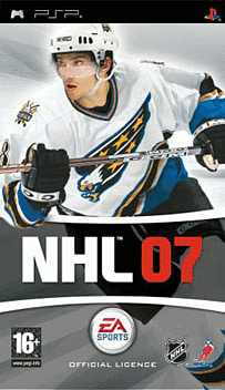 NHL 07 PSP Cover Art