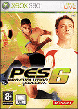 Pro Evolution Soccer 6 Xbox 360 Cover Art