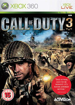 Call of Duty 3 Xbox 360 Cover Art