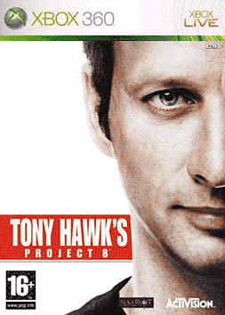 Tony Hawk's Project 8 Xbox 360 Cover Art