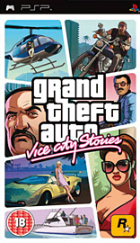 Grand Theft Auto: Vice City Stories PSP Cover Art