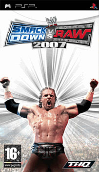 WWE SmackDown! vs RAW 2007 PSP Cover Art
