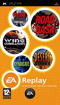 EA Replay PSP Cover Art