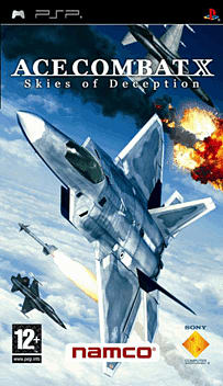 Ace Combat X: Skies of Deception PSP Cover Art