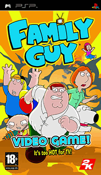Family Guy PSP Cover Art