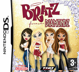 Bratz: Forever Diamondz DSi and DS Lite Cover Art