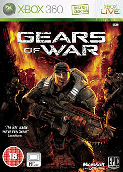 Gears of War Xbox 360 Cover Art