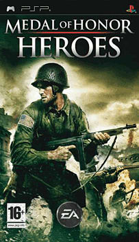 Medal of Honor: Heroes PSP Cover Art
