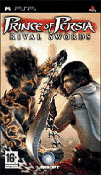 Prince of Persia: Rival Swords PSP Cover Art