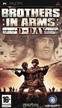 Brothers in Arms: D-Day PSP Cover Art