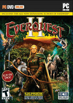 Everquest 2 - Echo of Faydwer PC Games and Downloads Cover Art