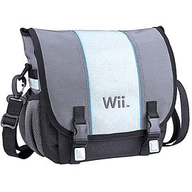 Official Nintendo Wii Console Messenger Bag Accessories