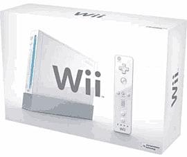 White Nintendo Wii Console Wii