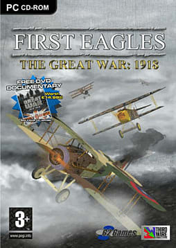 First Eagle: The Great Air War 1918 PC Games and Downloads Cover Art