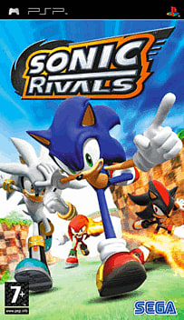 Sonic Rivals PSP Cover Art