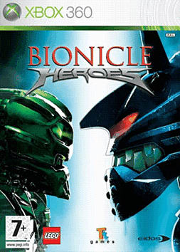Bionicle Heroes Xbox 360 Cover Art