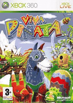 Viva Pinata Xbox 360 Cover Art