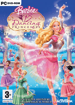 Barbie in the 12 Dancing Princesses PC Games and Downloads Cover Art
